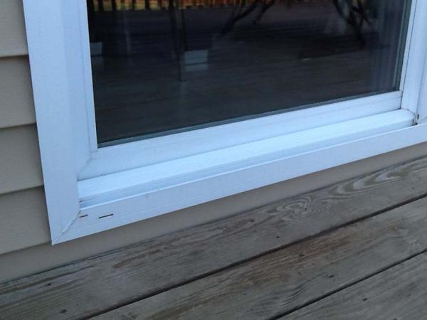 Sliding Glass Door Leaking Sliding Glass Door