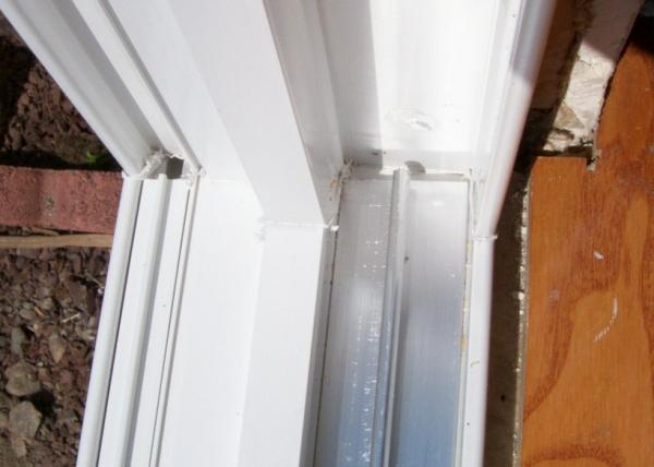 Sliding Glass Door: Leaking Sliding Glass Door