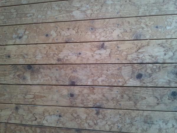 Wood Decking Sanding Wood Decking