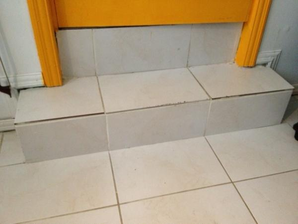 Laminated Wood Over Tile And Steps Question Doityourself
