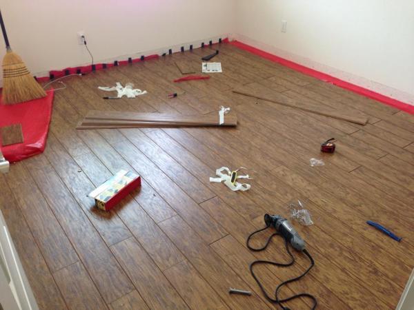 3 in 1 and cork underlayment community for Engineered cork flooring
