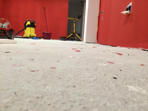 basement osb subfloor over concrete