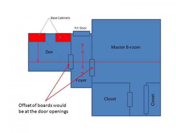 Name floor 2.jpg Views 552 Size 17.9 KB  sc 1 st  DoItYourself.com & New wood floor layout between adjoining rooms with doors ...