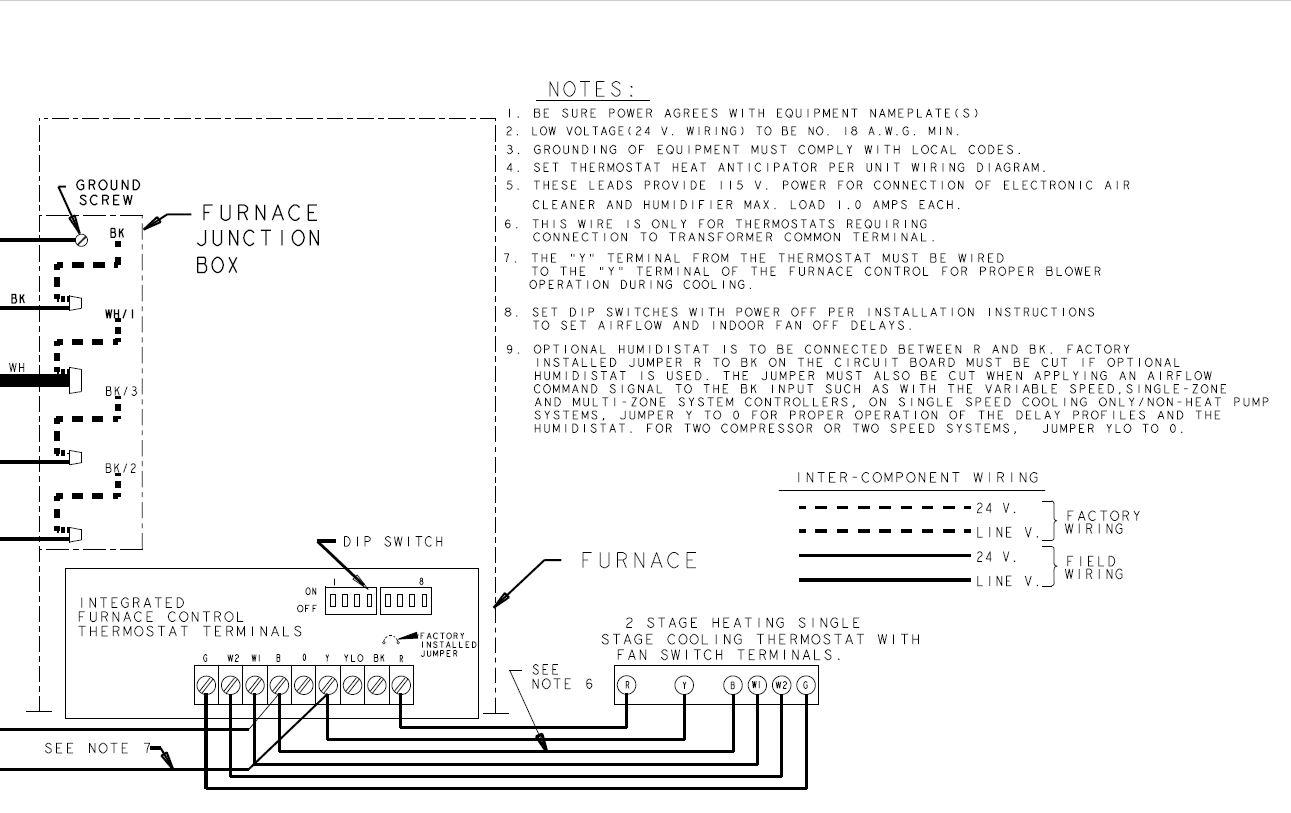 American Standard Aud2b080a9v3vb Furnace Setup