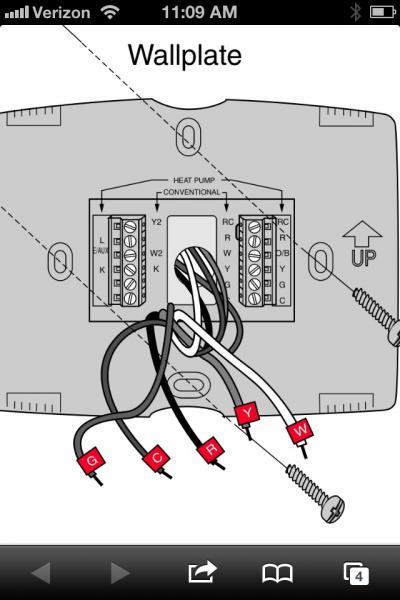 upgrading honeywell thermostat doityourself com ac thermostat wiring voltage ac thermostat wiring voltage ac thermostat wiring voltage ac thermostat wiring voltage