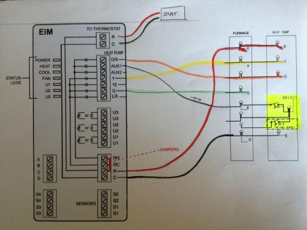 Wiring Diagram For Honeywell Visionpro Iaq : Honeywell iaq wiring diagram get free image about