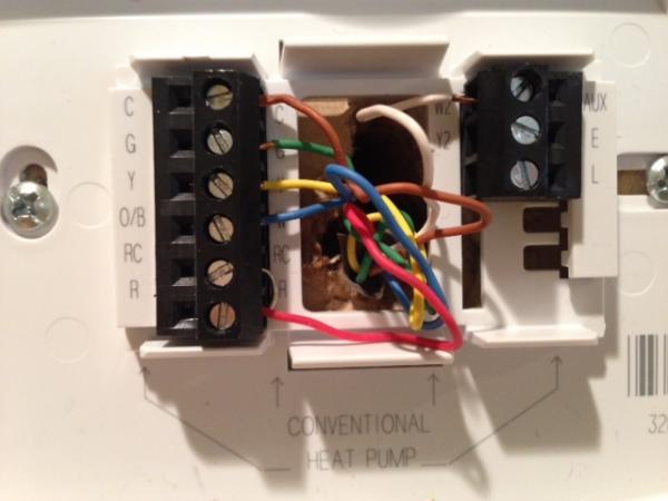 Honeywell Thermostat Rth7600d