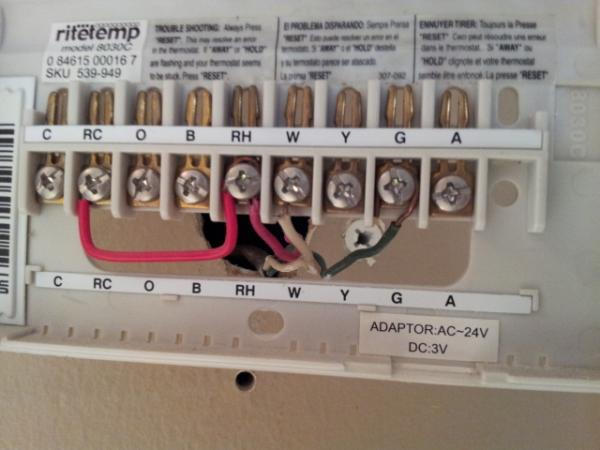 No C Wire For Instal Of Trane Home Energy Management Manual Guide