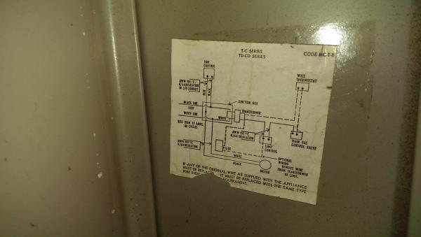 thermostat   wire gas furnace heat