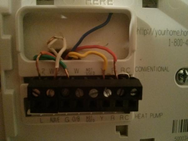 Ac Thermostat Wiring