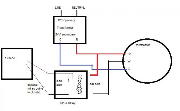part 2 help installing nest on millivolt system using 24v transformer doityourself