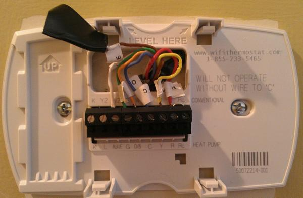 Honeywell Home Thermostat Wiring Diagram : Question regarding a honeywell thermostat wiring the new