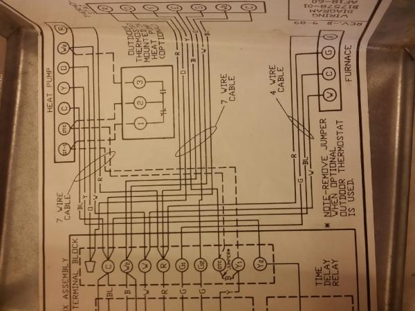 Need Help Installing Thermostat On Heat Pump With Furnace System