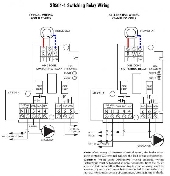Thermostat Relay Wiring Diagram : Taco hvac wiring diagram get free image about