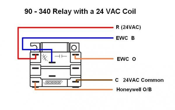 44271d1420319602 installing honeywell rth8500 thermostat only blows cold air image honeywell relay wiring diagram honeywell chronotherm iii wiring 90 340 relay wiring diagram at bayanpartner.co