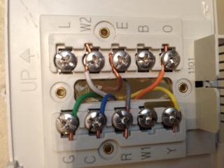 Honeywell Heat Pump Thermostat Wiring