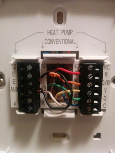 honeywell z wave thermostat wiring doityourself com community forums rh doityourself com Honeywell Thermostat Wiring Heat Pump conventional furnace thermostat wiring