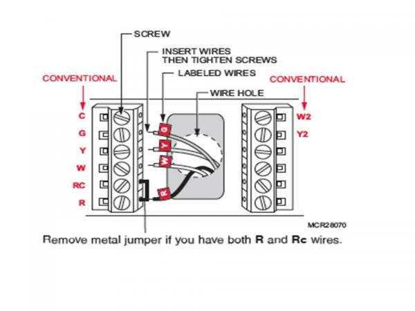 Honeywell Home Thermostat Wiring Diagram | Wiring Diagram on