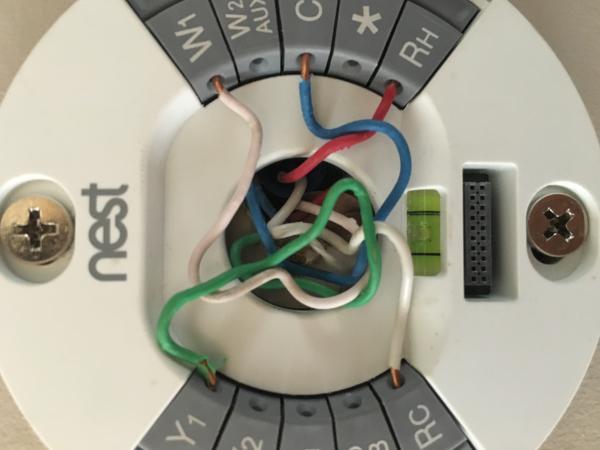 Nest 2nd Generation Wiring Help