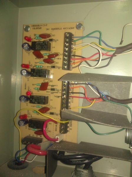 trane t-stat wiring problem