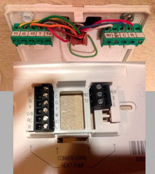 Installing Honeywell Rth7600 Thermostat