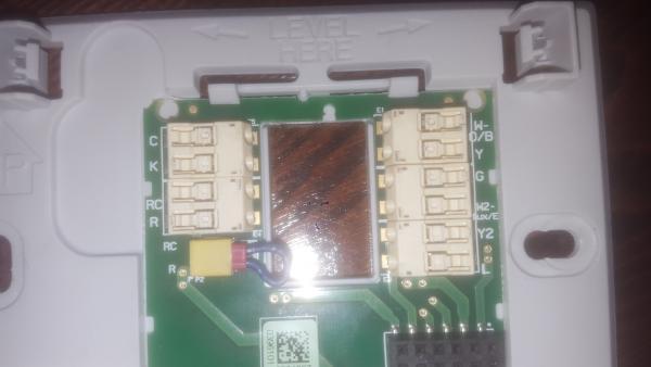 Installing New Honeywell Wifi Thermostat Rth9580wf