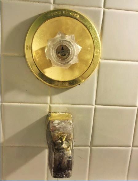 repairing older delta shower faucet