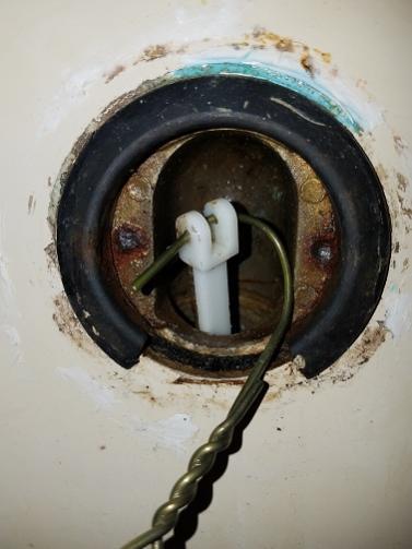 Replacing Bathtub Drain Lever No Screw Holes Screws