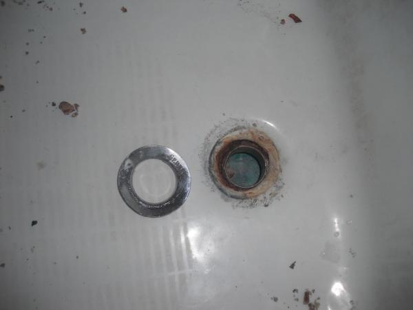 Remove Tub Drain Flange