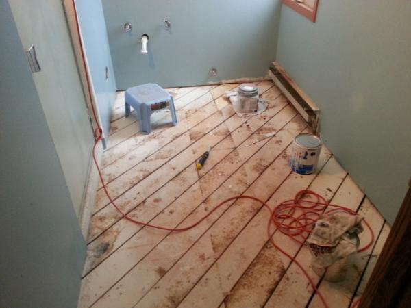 Plywood And Backerboard Type For Bathroom DoItYourselfcom - Plywood for bathroom subfloor