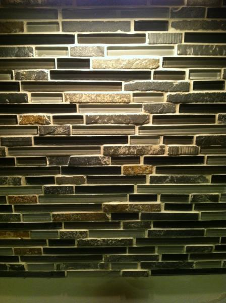 Dried Grout On Stone Help Mosaic Backsplash