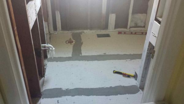 Help Installing Hardiebacker On 1x8 Vertical Plank Flooring Doityourself Com Community Forums