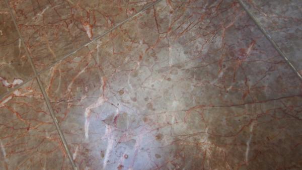 Fixing Water Spotting On Marble Floor Tile Bathroom