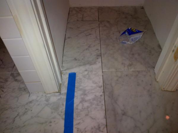 Marble Sealing Before Or After Grouting Doityourself
