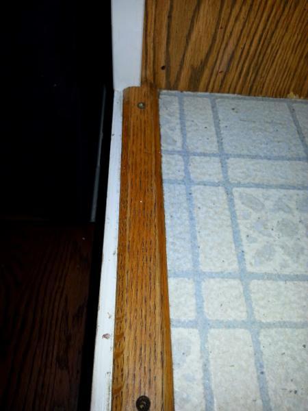 Replacing linoleum with ceramic tile
