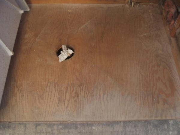 Bathroom Floor Underlayment For Tile : Can i should keep plywood underlayment on wood