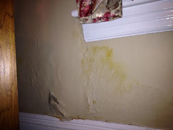 Plaster Wall Damage Under Window Doityourself Com Community Forums