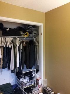 Removing Closet Wall