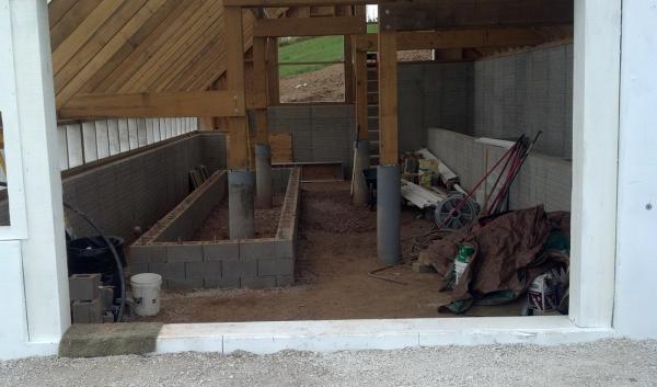 Greenhouse Floor Drainage