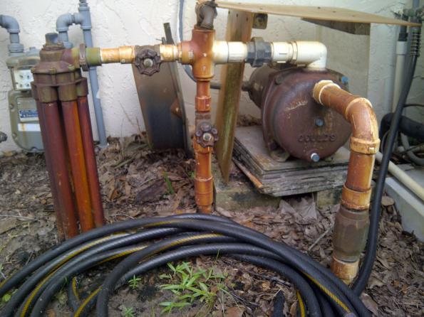 Irrigation Pump Plumbing Question Doityourself Com