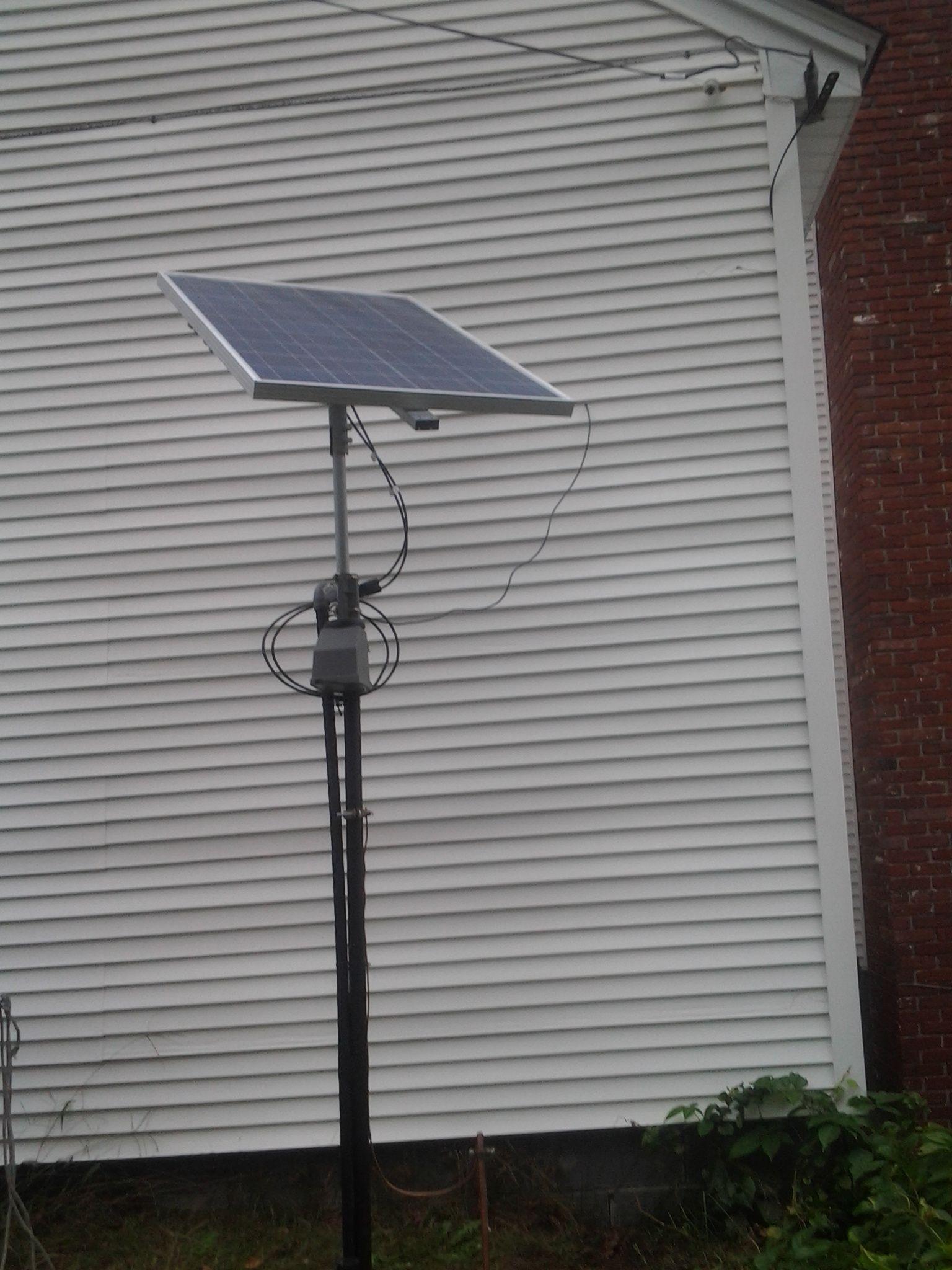 Solar Powered Hoop Style Greenhouse Bathroom Lighting Fixture Electrical Issues Doityourselfcom Step 7