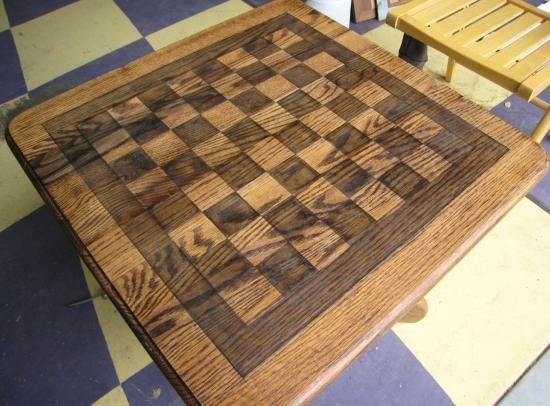 Chess/Checkerboard Table