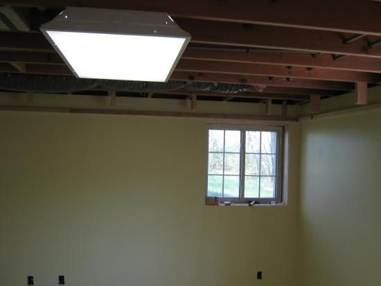 Basement Tray Ceiling