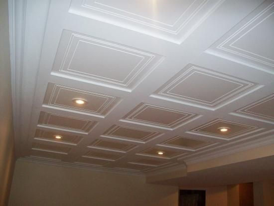 New Basement Ceiling