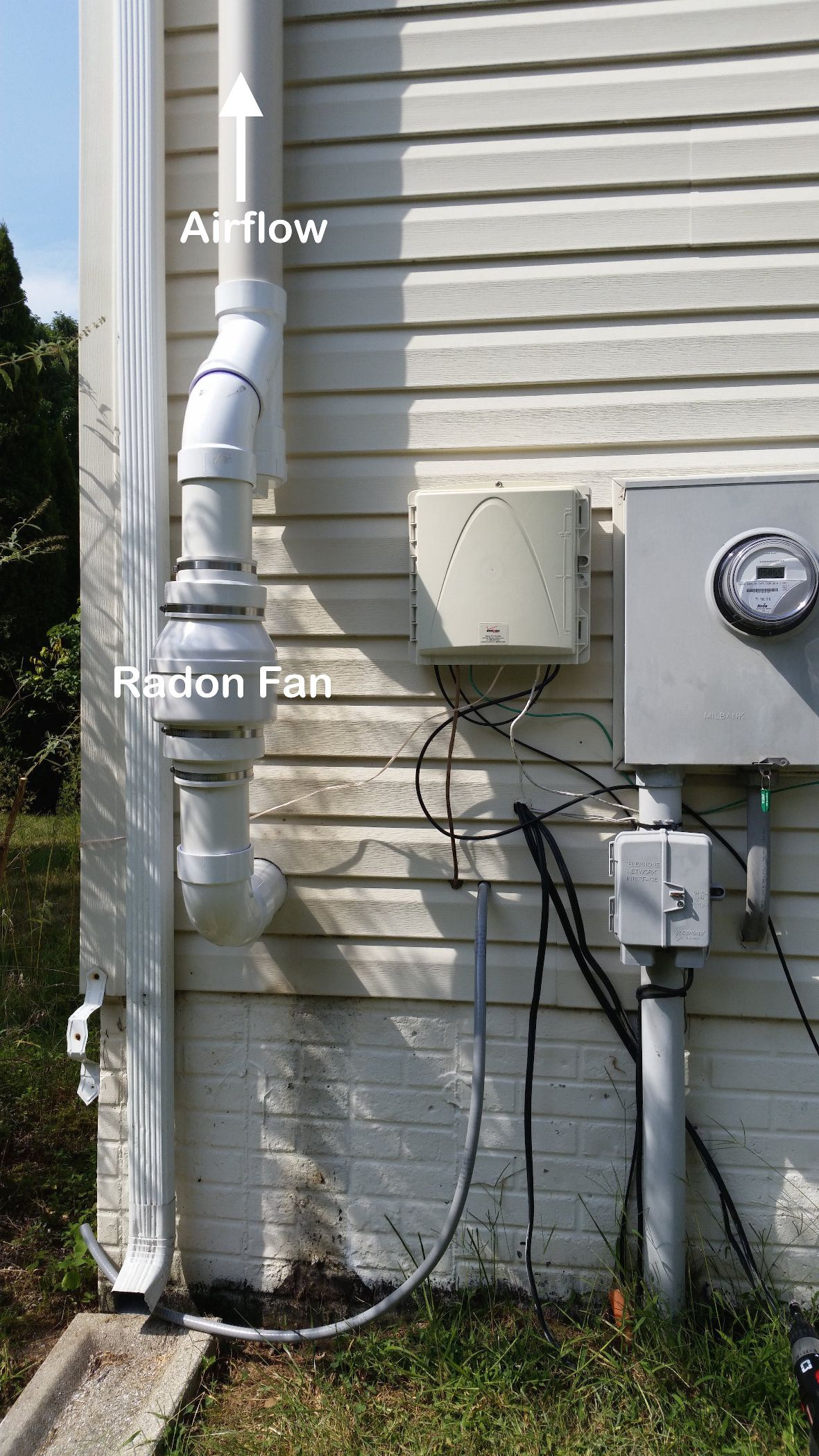 Radon Mitigation System Doityourself Com