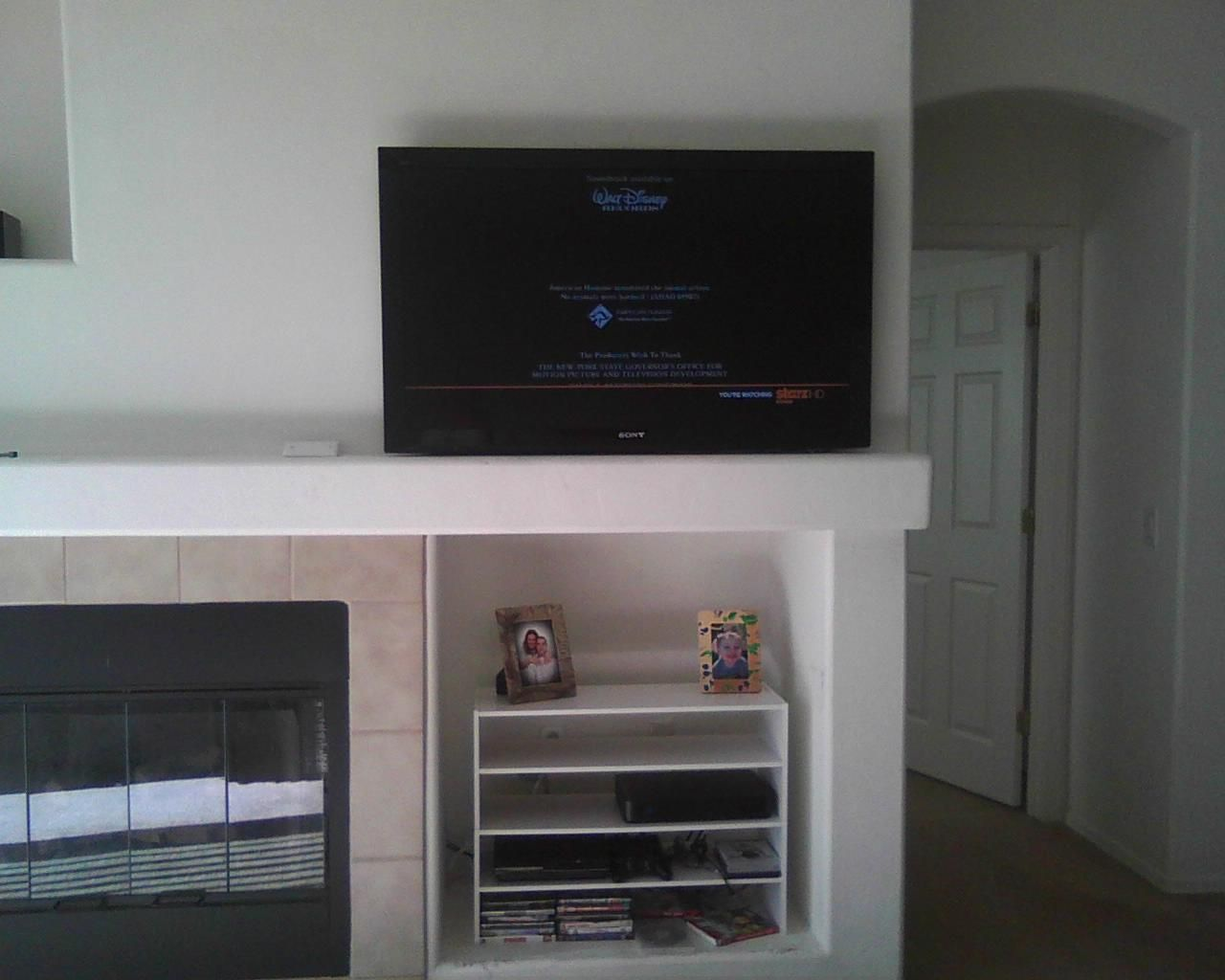TV Mounting and Wire Hiding