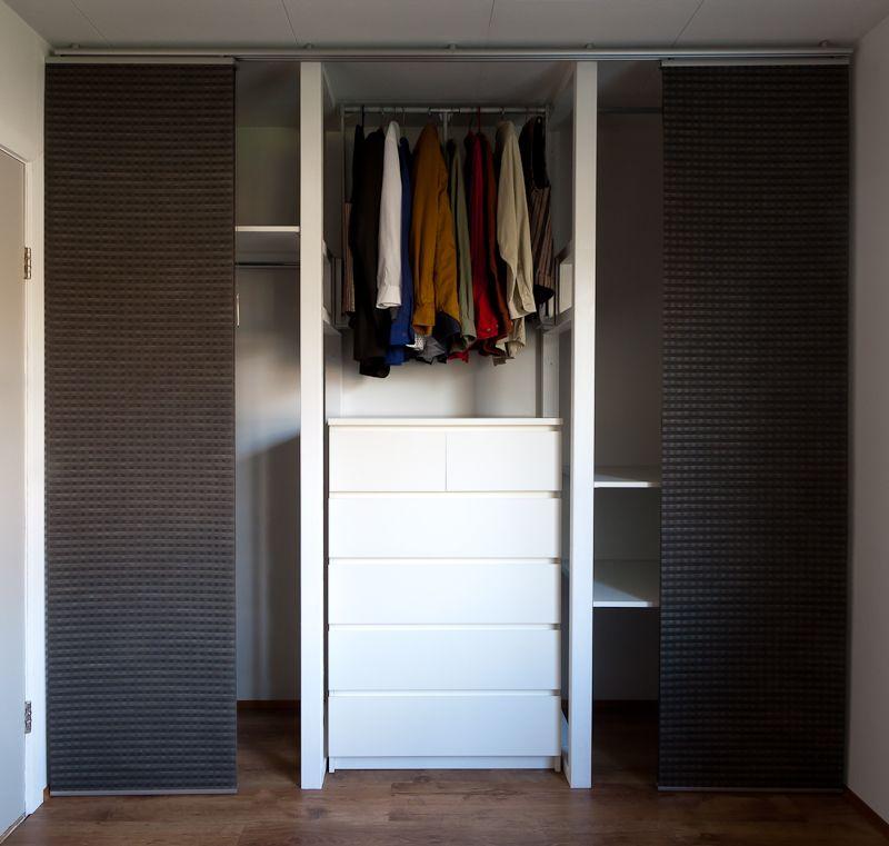 Unconventional wardrobe