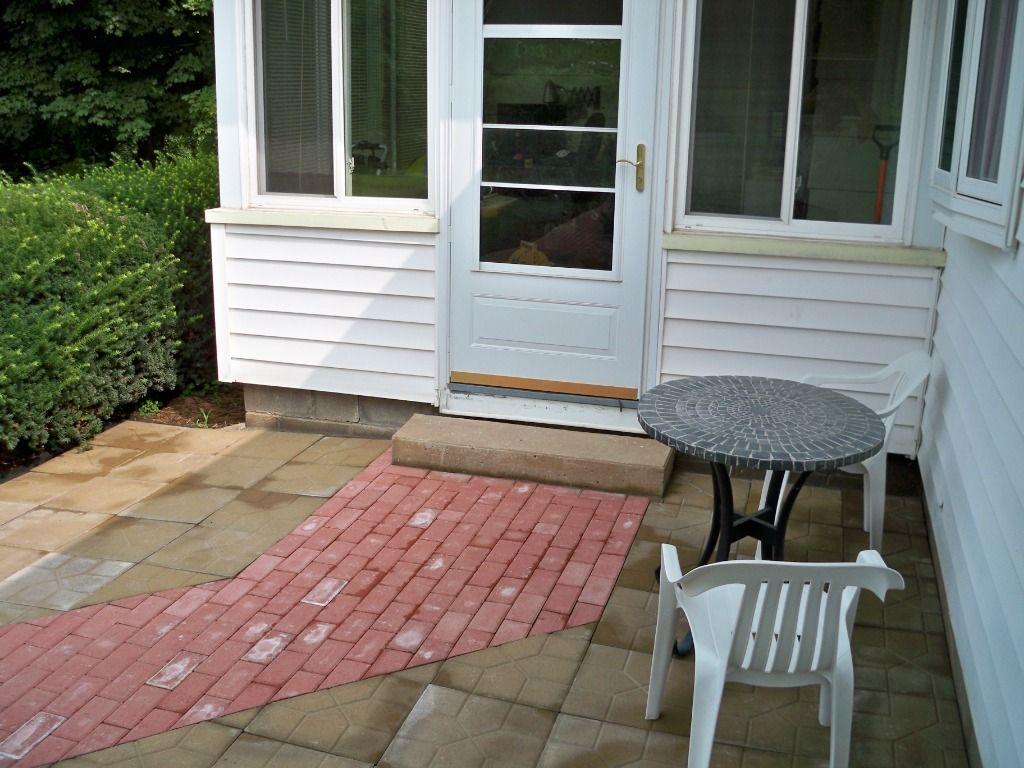 deck/boardwalk conversion to patio