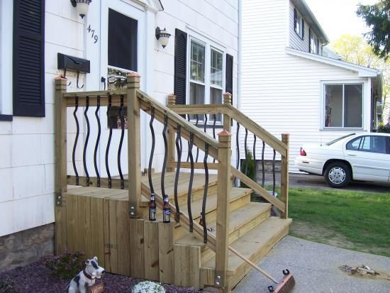 New Front Stairs