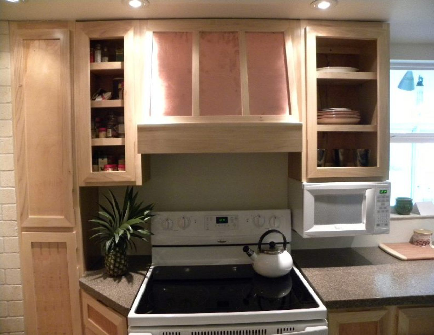 These Are Some Of The Cabinets And Range Hood Cabinet/cover I Built.
